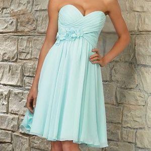 MORI LEE 31053 Bridesmaid Dress in MINT Sz 12